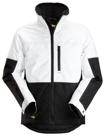 Snickers 1148 AllroundWork Winter Jacket (White/Black)