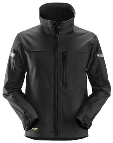 Snickers 1200 AllroundWork Softshell Jacket (Black)