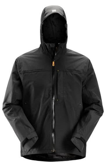 Snickers 1303 AllroundWork Waterproof Shell Jacket (Black)
