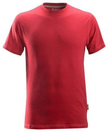 Snickers 2502 Classic T-shirt (Chili Red)