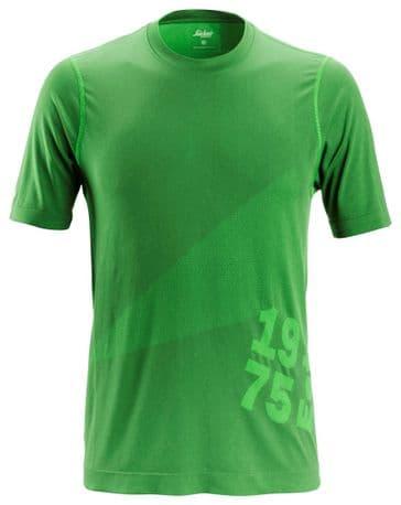 Snickers 2519 FlexiWork 37.5® Short Sleeve T-Shirt (Apple Green)