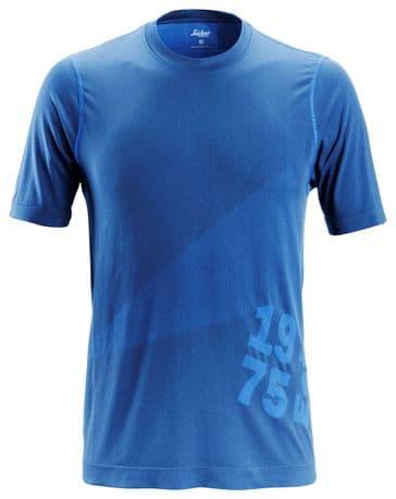 Snickers 2519 FlexiWork 37.5® Short Sleeve T-Shirt (True Blue)