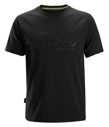 Snickers 2580 Logo T-Shirt (Black)