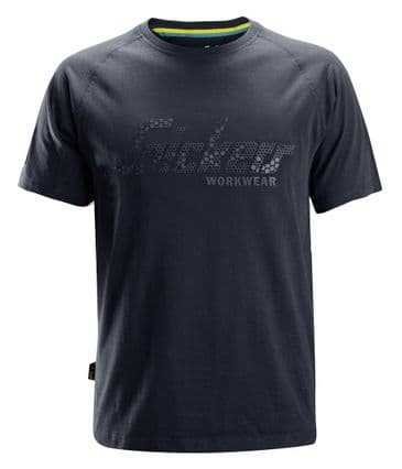 Snickers 2580 Logo T-Shirt (Navy)