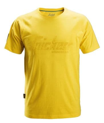 Snickers 2580 Logo T-Shirt (Yellow)