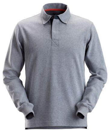 Snickers 2612 AllroundWork Rugby Shirt (Dark Blue Melange)