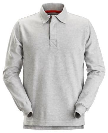 Snickers 2612 AllroundWork Rugby Shirt (Grey Melange)