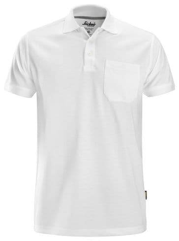 Snickers 2708 Classic Polo Shirt (White)