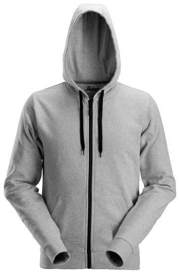 Snickers 2801 Zip Hoodie (Grey)