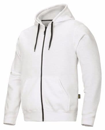 Snickers 2801 Zip Hoodie (White)