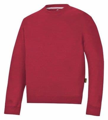 Snickers 2810 Sweatshirt (Chili Red)