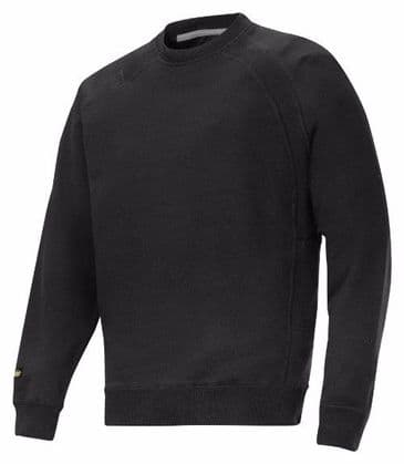 Snickers 2812 Sweatshirt with MultiPockets (Black)