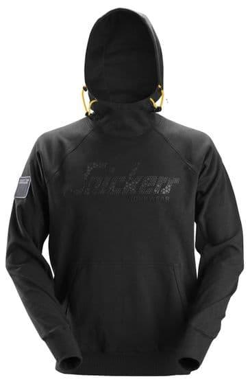 Snickers 2881 Logo Hoodie (Black)