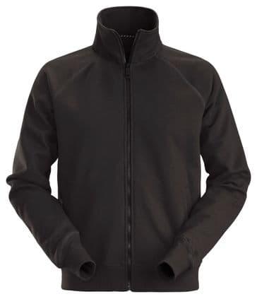 Snickers 2886 AllroundWork Full Zip Sweatshirt Jacket (Black)
