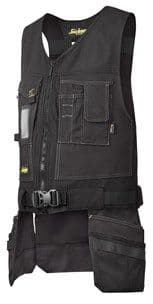 Snickers 4254 Canvas+ Toolvest (Black / Black)
