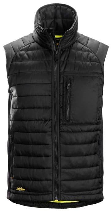 Snickers 4512 AllroundWork 37.5® Insulator Vest (Black/Black)