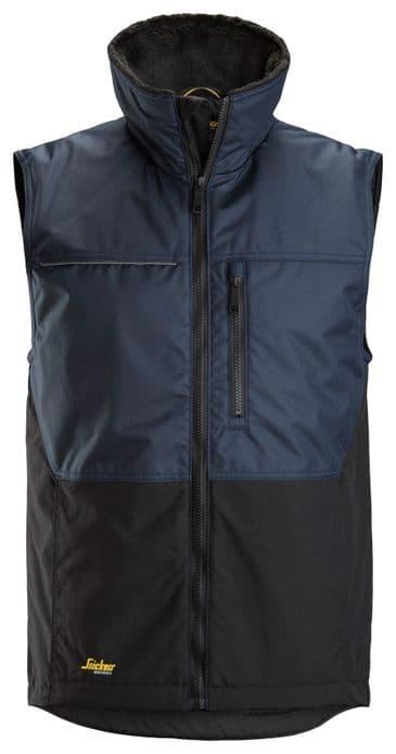 Snickers 4548 AllroundWork Winter Vest (Navy/Black)