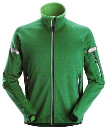 Snickers 8004 AllroundWork 37.5® Fleece Jacket (Apple Green)
