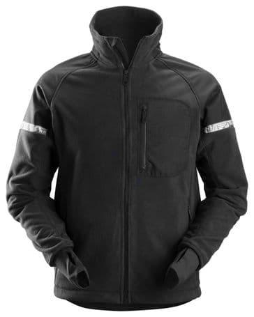 Snickers 8005 AllroundWork Windproof Fleece Jacket (Black/Black)