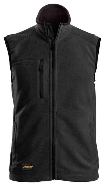 Snickers 8024 AllroundWork Fleece Vest (Black)