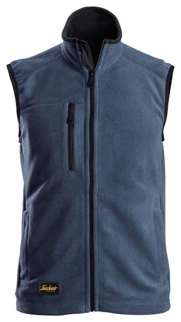 Snickers 8024 AllroundWork Fleece Vest (Navy / Black)