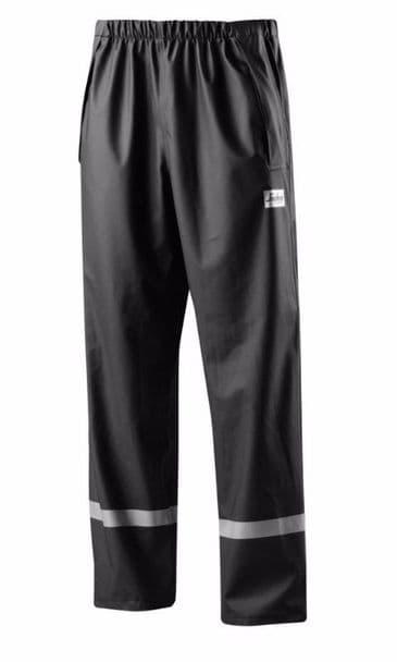 Snickers 8201 Rain Trousers, PU (Black)