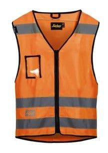 Snickers 9153 High-Vis Vest, Class 2 (High Vis Orange)