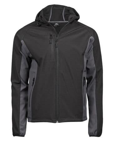 Tee Jays TJ9514 Men's Hooded Lightweight Performance Softshell Jacket