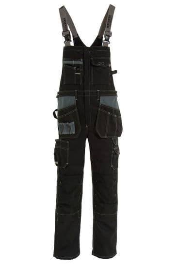 Tranemo 3841 Premium Plus Craftsman Bib 'n' Braces (Black)
