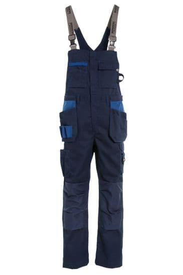 Tranemo 3841 Premium Plus Craftsman Bib 'n' Braces (Navy)