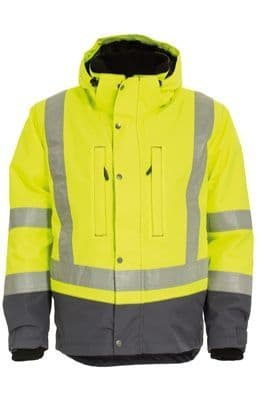 Tranemo 4801 CE-ME Winter Jacket (High Vis Yellow/Grey)