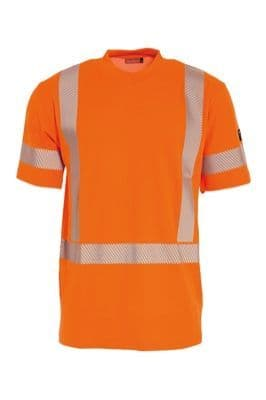 Tranemo 4872 CE-ME T-Shirt (High Vis Orange)