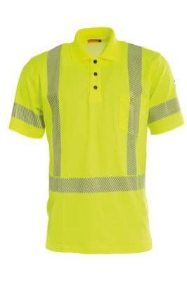 Tranemo 4875 CE-ME Polo Shirt (High Vis Yellow)
