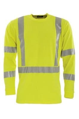 Tranemo 5072 T-Shirt Long Sleeve (High Vis Yellow)