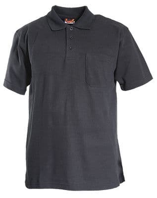 Tranemo 8033 Polo Shirt (Black)