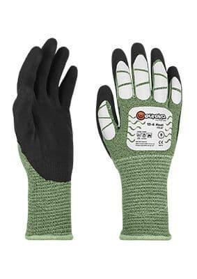 Tranemo RG0004 Gloves FR ARC 1 (Black/Green)