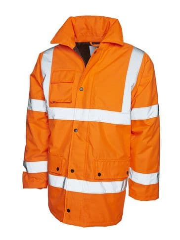 Uneek UC803 High Visibility Traffic Road Safety Jacket