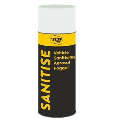 Vehicle Sanitising Aerosol Fogger - Anti-Bacterial 100ml