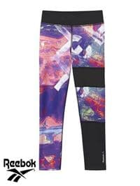 Junior Reebok 'Studio' Leggings (BK4360) x8 (Option 1): £5.95