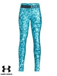 Junior Under Armour 'HeatGear' Leggings (1331674-439) x7 (Option 1): £8.95