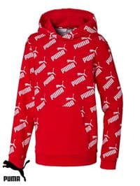 Men's Puma 'Amplified' Hooded Sweatshirt (582795-11) x5 (Option 1); £14.95