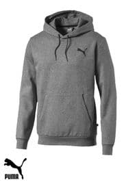 Men's Puma 'Essential' Hooded Sweatshirt (851744-23) x8 (Option 1): £13.95