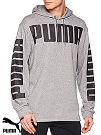 Men's Puma 'Rebel' Hooded Sweatshirt (850087-03) x6 (Option 2): £14.95