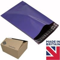 Purple Mailing Bags x100 Pieces