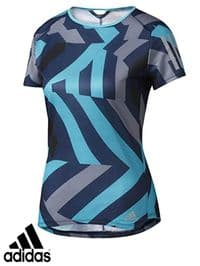 Women's Adidas 'Response Q2' T Shirt (AZ2857) x7 (Option 1): £5.95