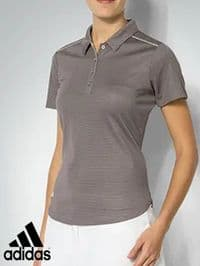 Women's Adidas 'Technical' Polo Shirt (BC3989) x9 (Option 1): £7.95