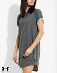 Women's Under Armour 'French Terry' Dress (1277212-090)(Option 1) x6: £13.95