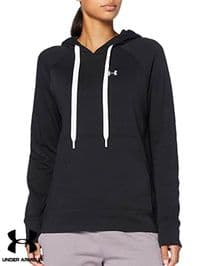 Women's Under Armour 'Rival Terry' Hooded Sweatshirt (1360958-001) x3 (Option 1): £14.95