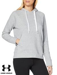 Women's Under Armour 'Rival Terry' Hooded Sweatshirt (1360958-035) x3 (Option): £14.95